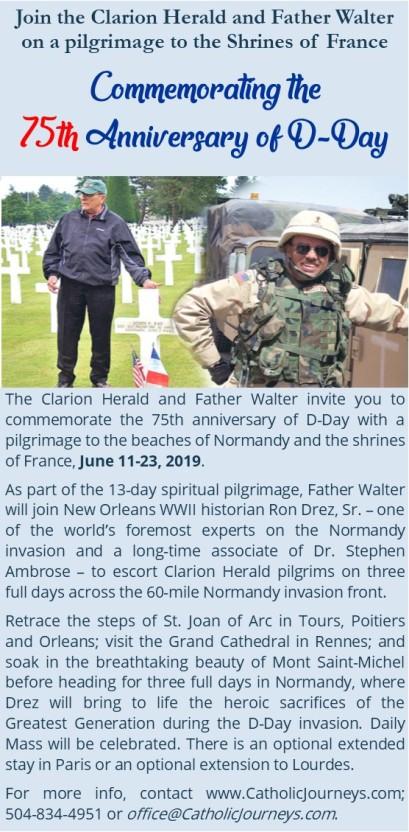 d-day anniversary pilgrimage